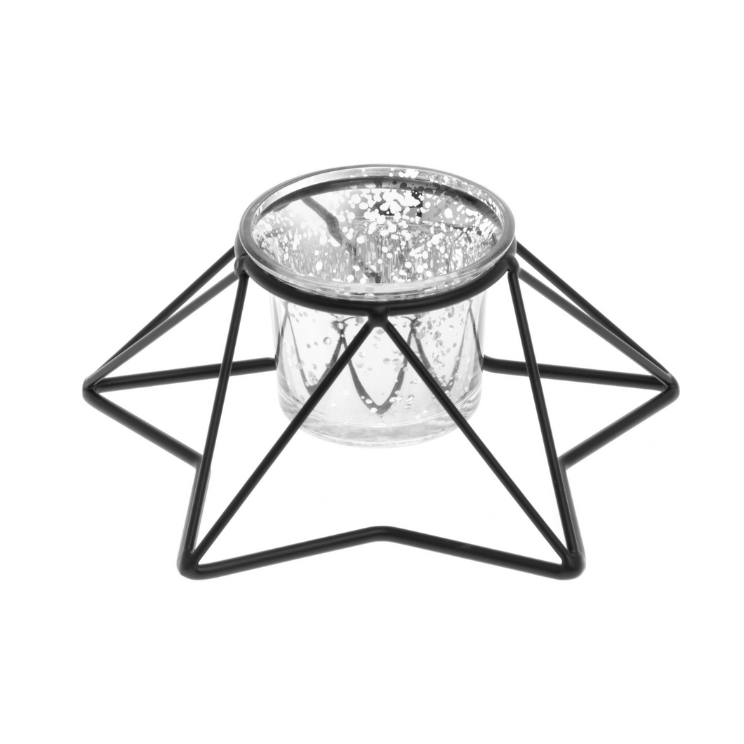 Minimalistic Candle Holder Star