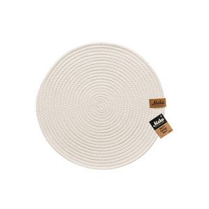 Cotton Rope Placemat by Maku White