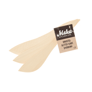 Wooden Butter Knives by Maku Set of 3