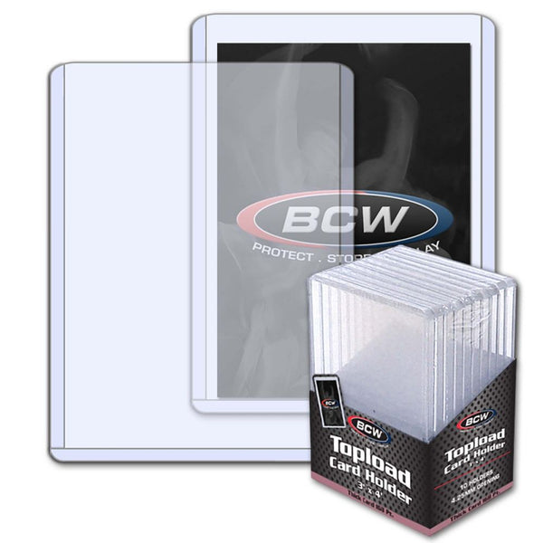 BCW - Toploader Card Holders Thick 168PT