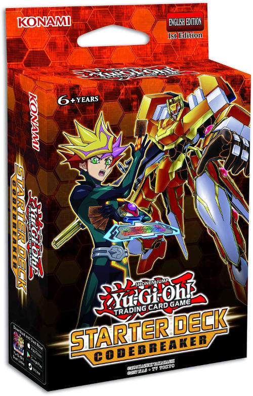 Yugioh! Starter Deck: Codebreaker *Sealed*