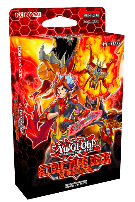 Yugioh! Structure Deck: Soulburner *Sealed*