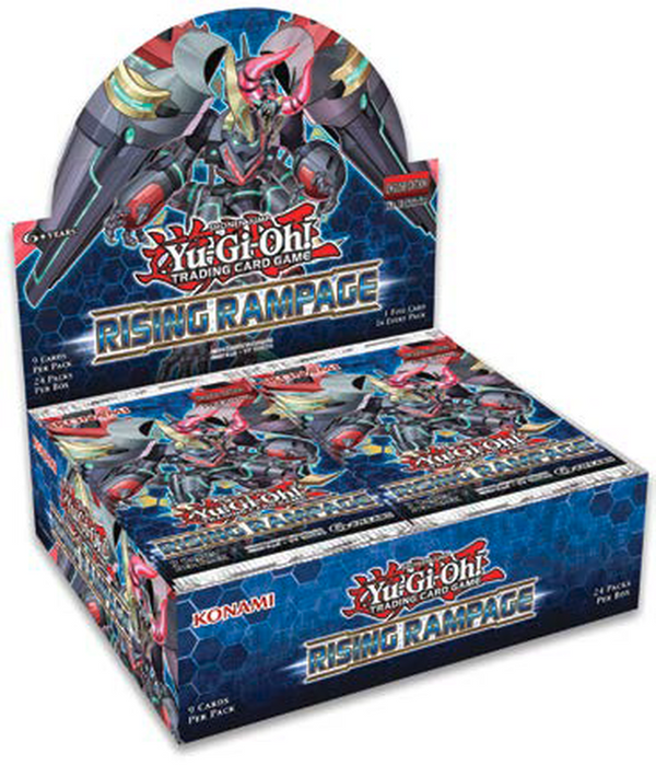 Yugioh! Booster Boxes: Rising Rampage *In stock w/supplier*