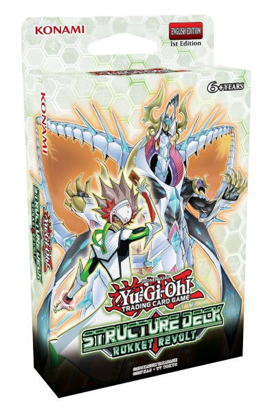 Yugioh! Structure Deck: Rokket Revolt *Sealed*