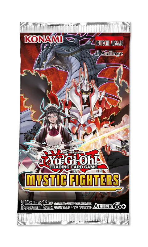 Yugioh - Mystic Fighters Single Booster Pack *Sealed*