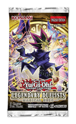 Yugioh - Legendary Duelists: Magical Hero Booster Pack