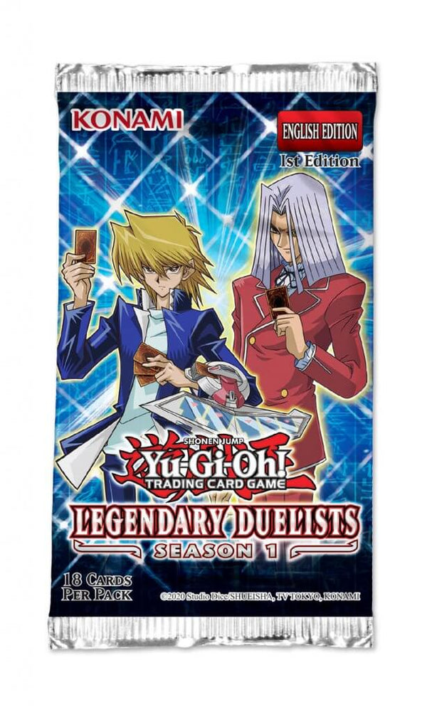 Yugioh! Legendary Duelists: Season 1 SINGLE BOOSTER PACK *Sealed*
