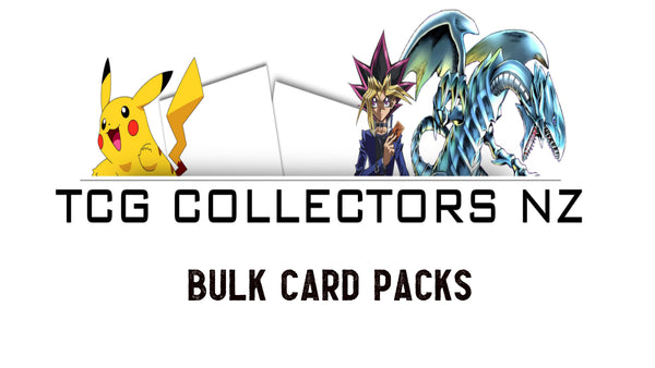Bulk Card Packs - 50 Commons, 4 Rares & 6 Foils!