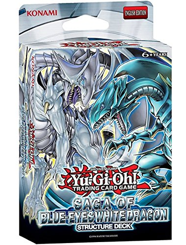 Yugioh! Structure Deck: Saga of Blue-Eyes White Dragon *Sealed*