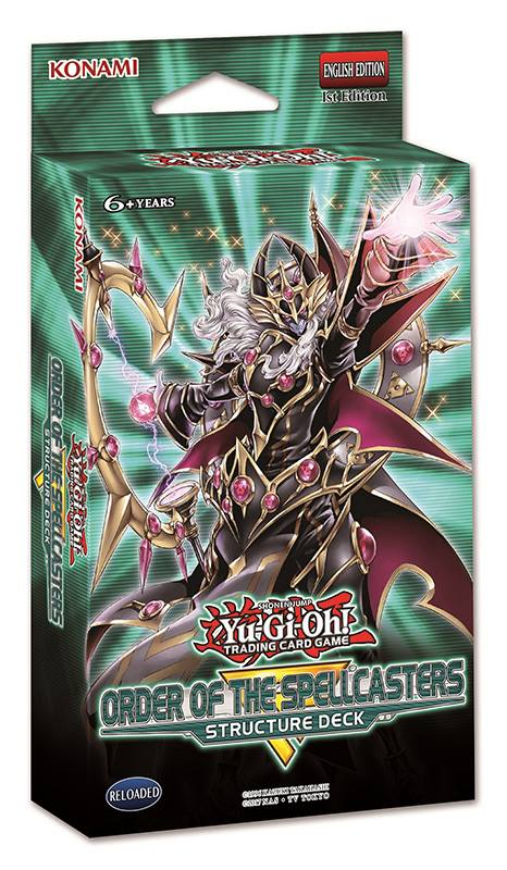 Yugioh! Structure Deck: Order of the Spellcasters *Sealed*