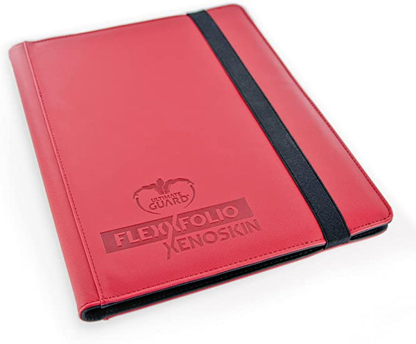 Ultimate Guard 9-Pocket FlexXfolio XenoSkin Red Folder