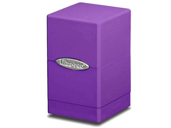 Ultra Pro Satin Tower - Purple