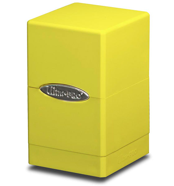 Ultra Pro Satin Tower - Bright Yellow