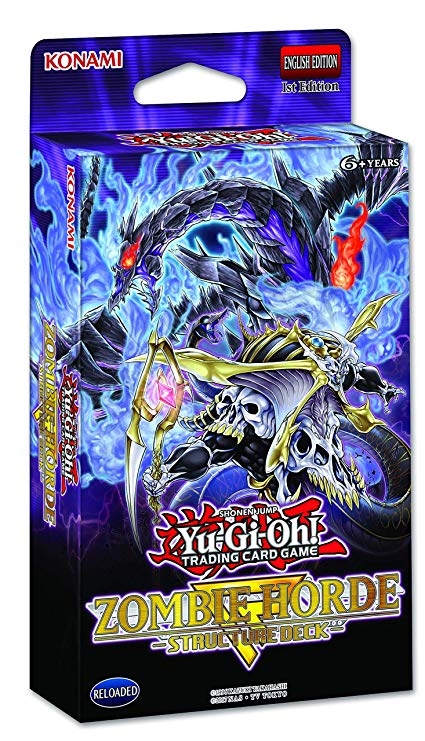 Yugioh! Structure Deck: Zombie Horde *Sealed*