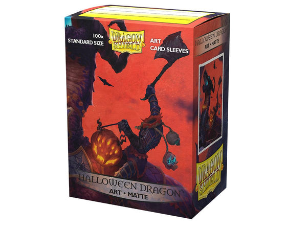 Dragonshield Sleeves - Halloween Dragon Art Sleeves (Standard Size 100 Pack)