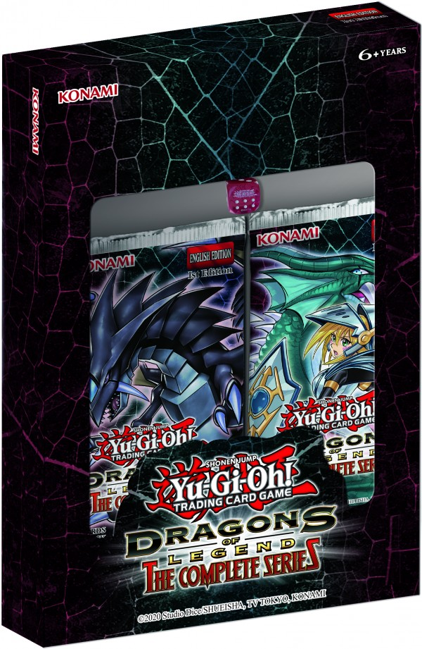 Yugioh! Boxed Sets & Tins: Dragons of Legend: The Complete Series *Sealed*