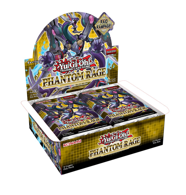 Yugioh! Booster Boxes: Phantom Rage *Sealed* (PRE-ORDER, SHIPS 5/11/2020)