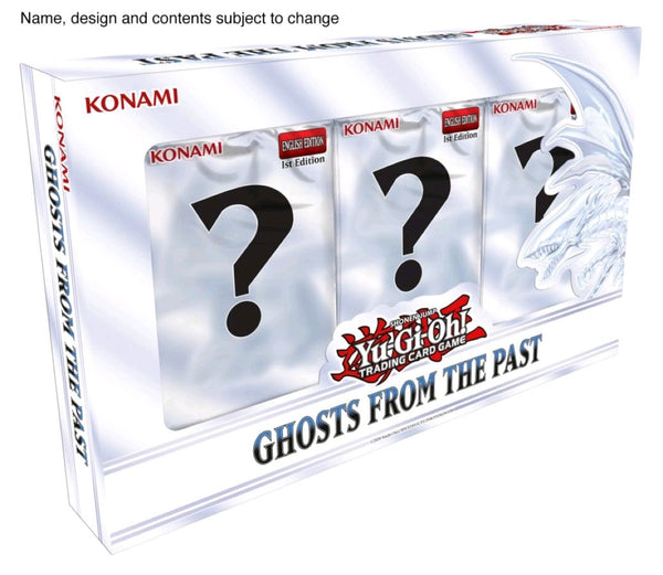 Yugioh! Boxed Sets & Tins: Ghosts from the Past *Sealed* (PRE-ORDER, SHIPS 16TH APRIL)