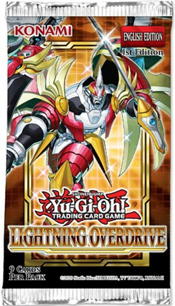 Yugioh! Booster Packs: Lightning Overdrive *Sealed* (PRE-ORDER)