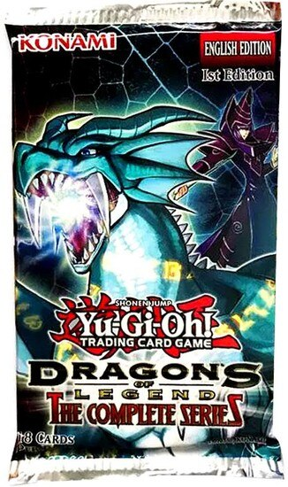 Yugioh! Dragons of Legend: The Complete Series SINGLE BOOSTER PACK *Sealed*