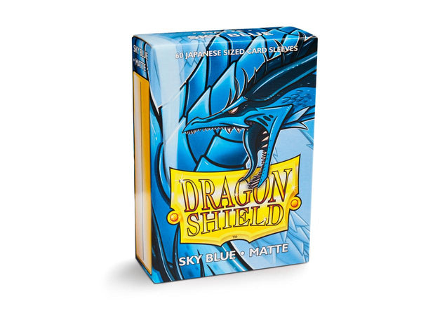 Dragon Shield Sleeves - Matte Sky Blue
