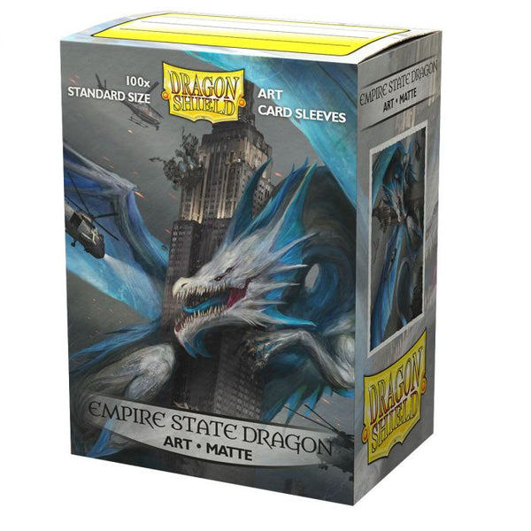 Dragonshield Sleeves - Empire State Dragon Art Sleeves (Standard Size 100 Pack)