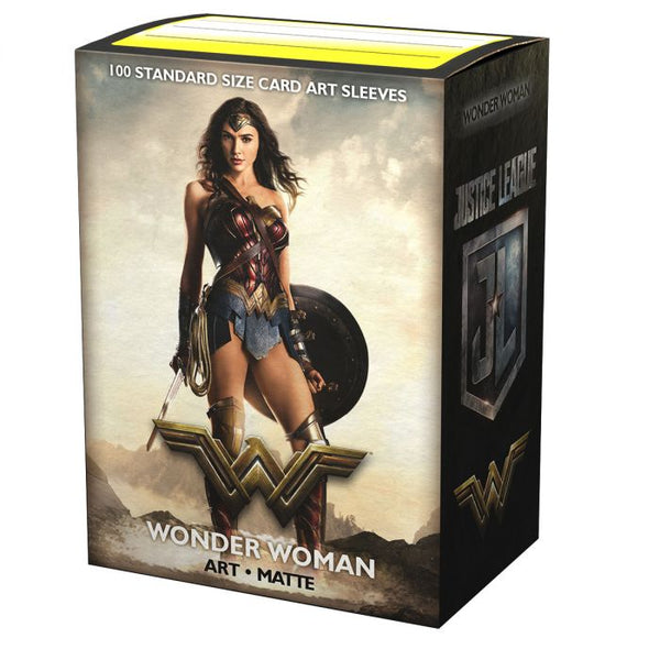 Dragonshield Sleeves -  DC Wonder Woman Art Sleeves (Standard Size 100 Pack)