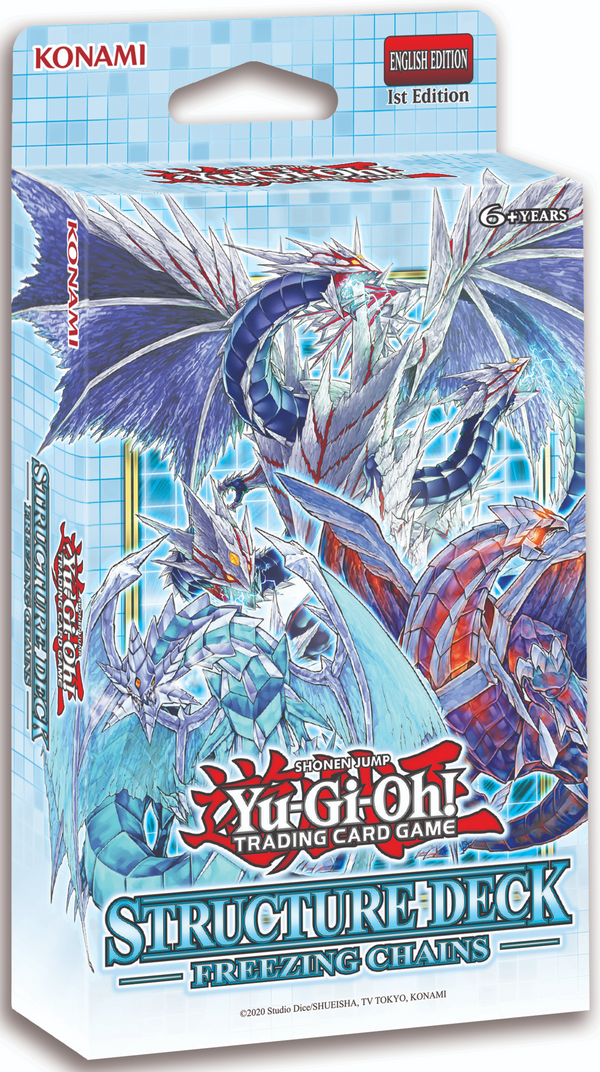 Yugioh! Structure Deck: Freezing Chains *Sealed* (PRE-ORDER, RELEASES FEB 18TH)