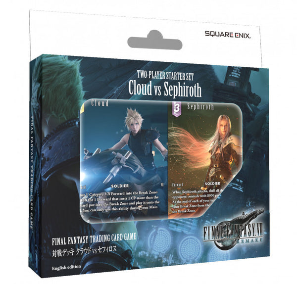 Final Fantasy! Two-Player Starter Set: Cloud vs Sephiroth