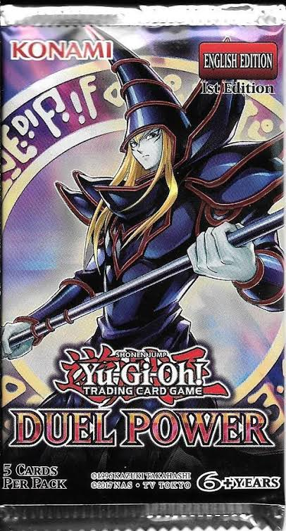 Yugioh - Duel Power Single Booster Pack *Sealed*