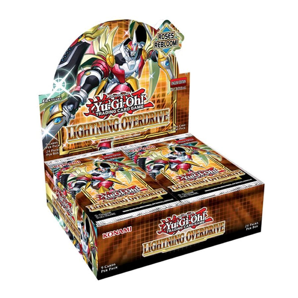 Yugioh! Booster Boxes: Lightning Overdrive *Sealed* (PRE-ORDER)