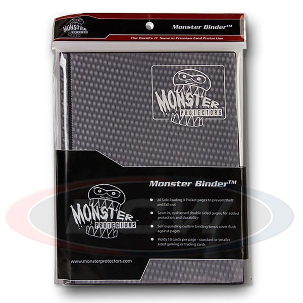 Monster 9-Pocket Matte Album - Holofoil Black