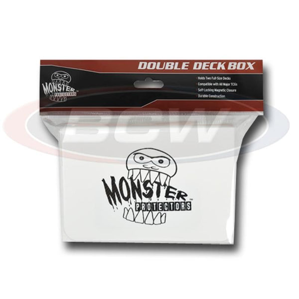 Monster Double Deck Box - Matte White