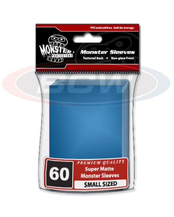 Monster - Small Matte Sleeves - Blue