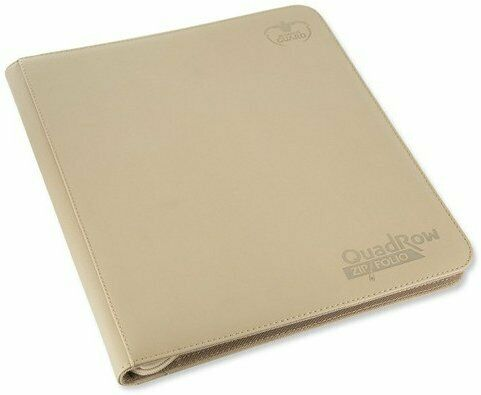Ultimate Guard 12-Pocket Zip-Folio XenoSkin Sand Folder