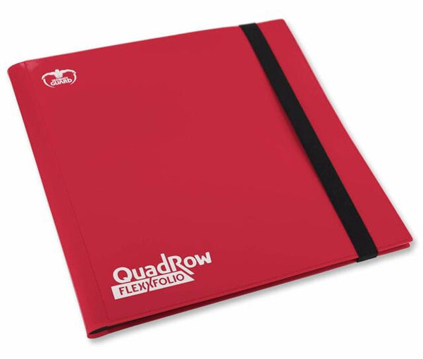 Ultimate Guard 12-Pocket FlexXfolio Red Folder