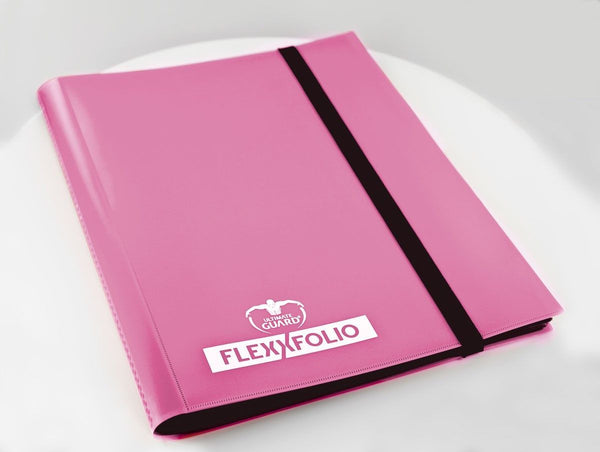 Ultimate Guard 9-Pocket FlexXfolio Pink Folder