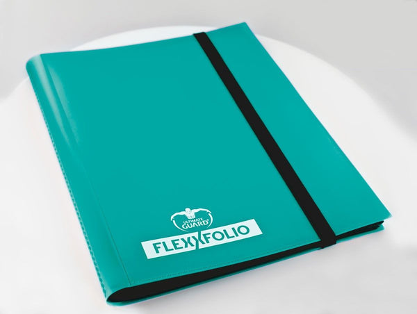 Ultimate Guard 9-Pocket FlexXfolio Turquoise Folder