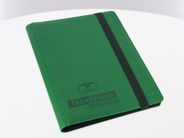 Ultimate Guard 9-Pocket FlexXfolio XenoSkin Green Folder