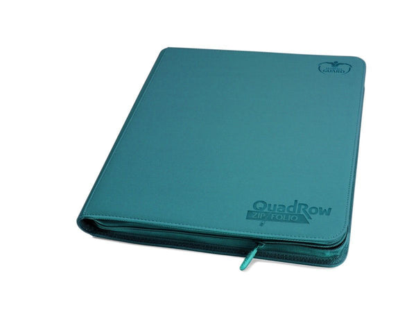 Ultimate Guard 12-Pocket Zip-Folio XenoSkin Petrol Blue Folder