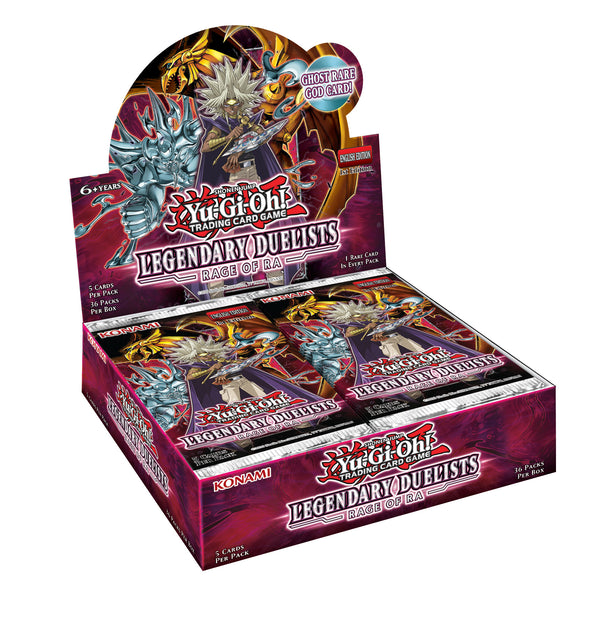 Yugioh! Booster Boxes: Legendary Duelists: Rage of Ra