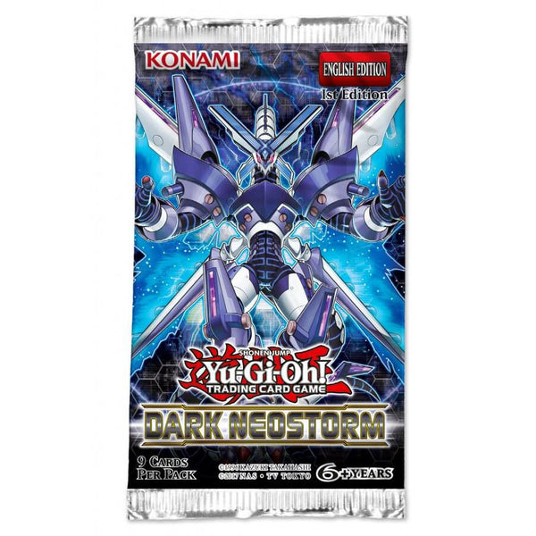 Yugioh - Dark Neostorm Single Booster Pack *Sealed*