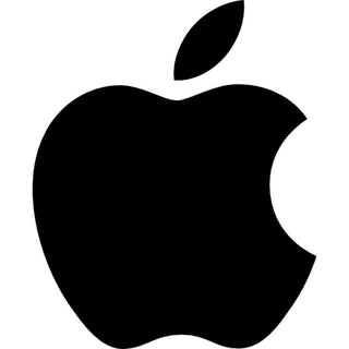 zwarte apple-logo, apple logo