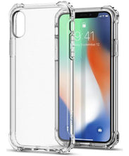 Rugged Crystal Case Apple iPhone X Transparant