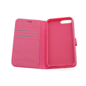 IPhone 8 bookcase roze