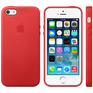 IPhone SE siliconen hoesje rood
