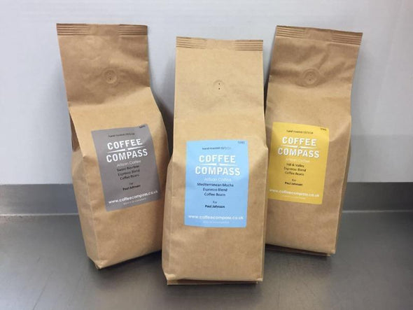 Coffee Compass Espresso Selection