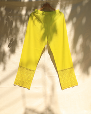 Crazy Daisy Pant - Lime Green