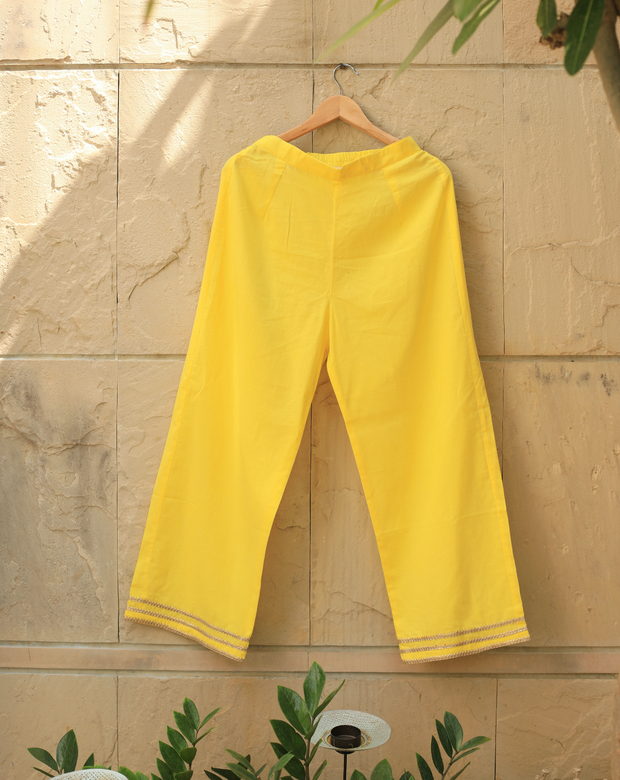 Crazy Daisy Pant - Yellow