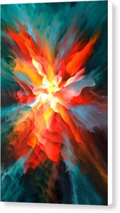 Energy Of The Subconscious - Canvas Print